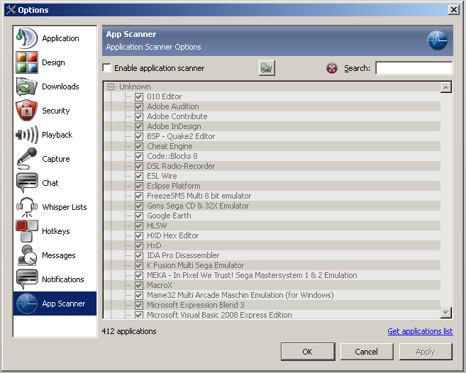 TS3G_Settings_Options_APPSCAN